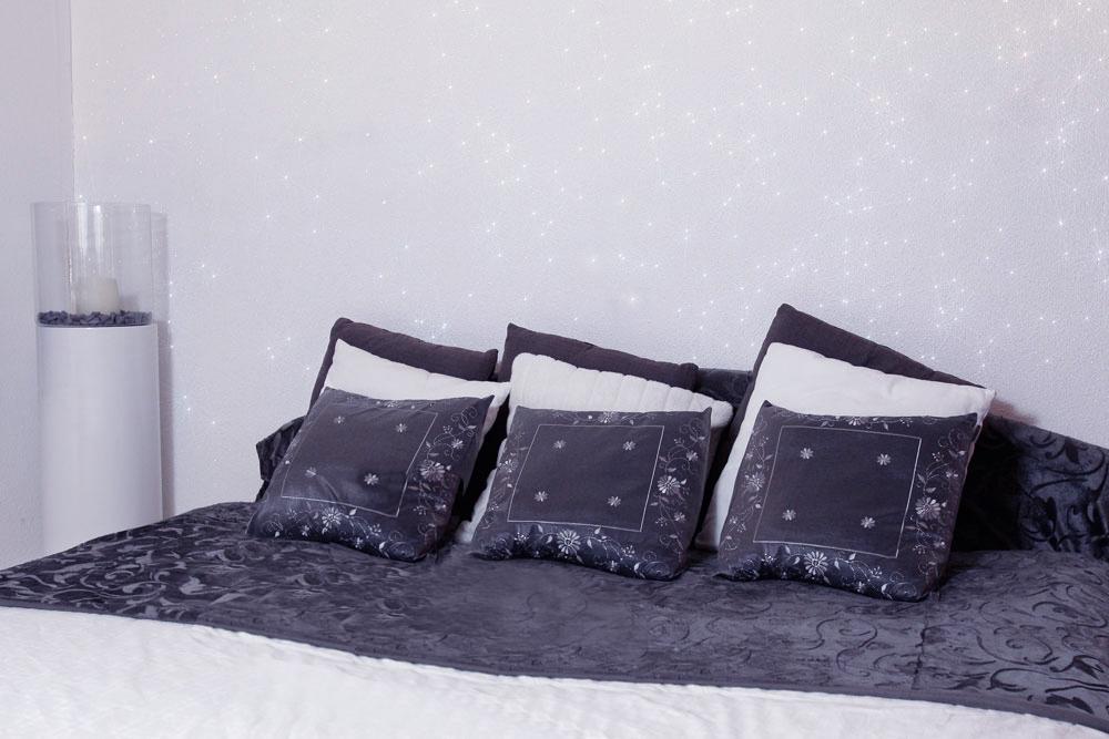 Slaapkamer Muur Pimpen : Glitters Op Je Muur - Doe eens iets ...